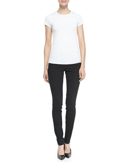 Sophia Denim Skinny Jeans, Black