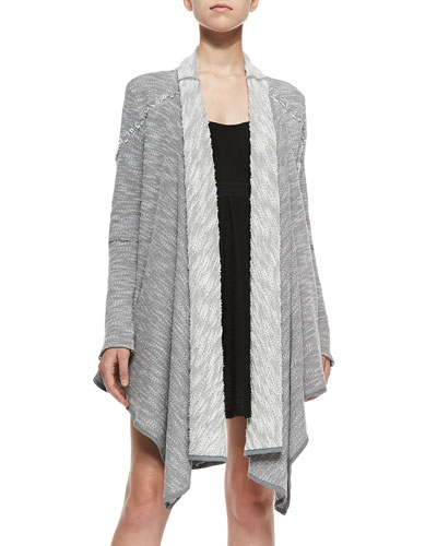 In The Loop Long Open-Front Cardigan
