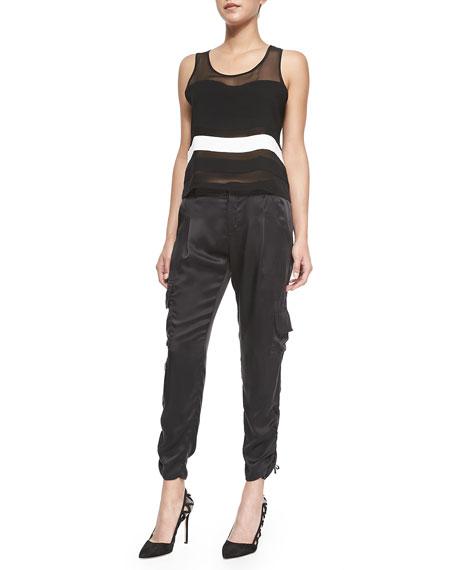 BLACK MELBOURNE PANT
