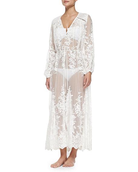 zimmermann essence silk veil gathered dress. Black Bedroom Furniture Sets. Home Design Ideas