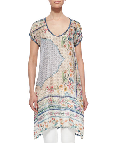 Kobi Long Printed Tunic