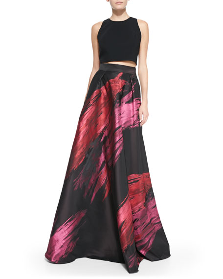 Paintbrush Stroke Ball Skirt
