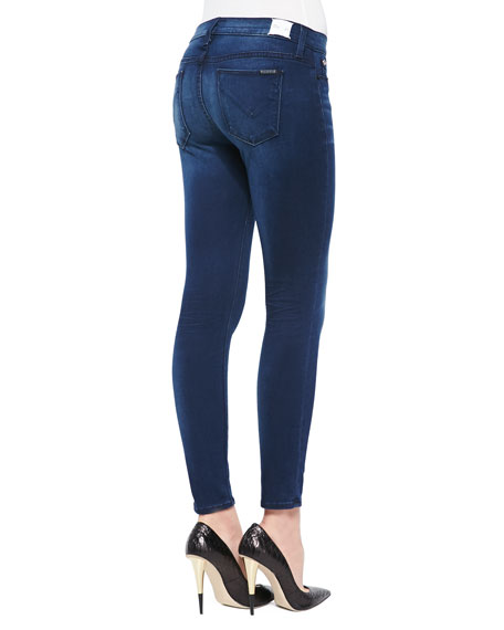 Krista Contrary Faded Cropped Skinny Jeans