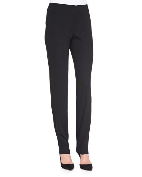 Neiman Marcus Skinny Pants W/ Side Zip