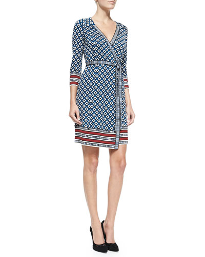 Neiman Marcus Dvf Wrap Dress NMS T QE