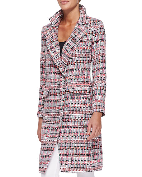 Cleo Long Tweed Coat