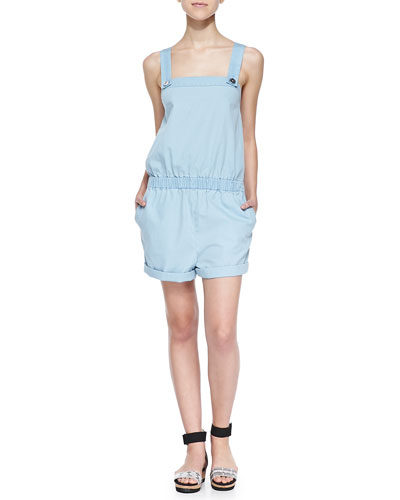 Ash Playsuit W/ Shoulder Straps