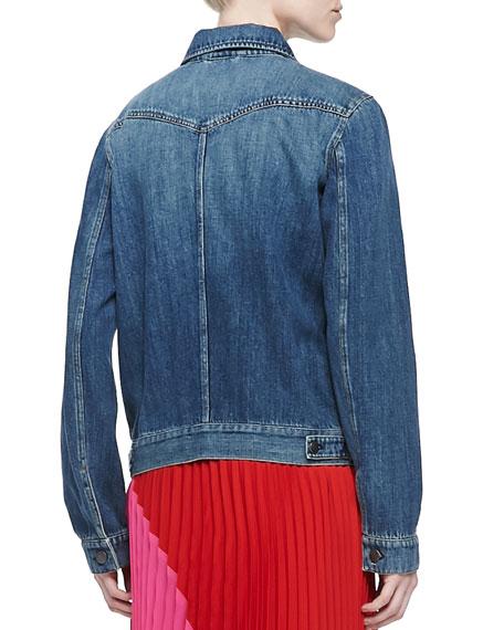 John Faded Denim Jacket