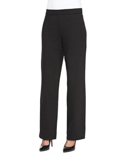 Full-Length Jog Pants, Black, Petite