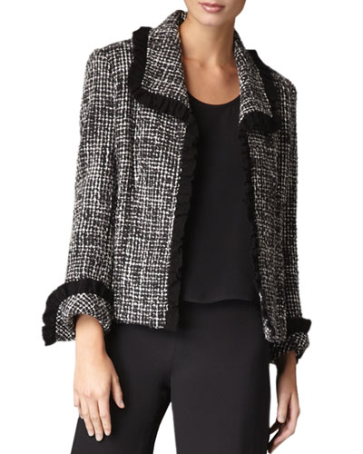 Tweed Jacket, Petite