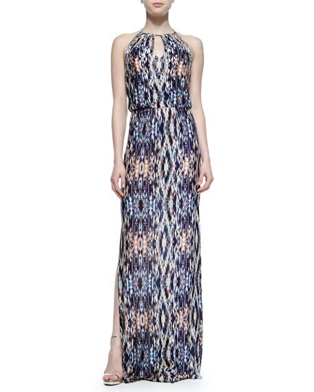 Parker Moriah Abstract-Print Maxi Dress