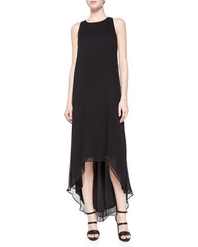 Alice + Olivia Sleeveless High-Low Dress