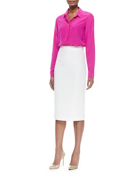 LongPencil Skirt
