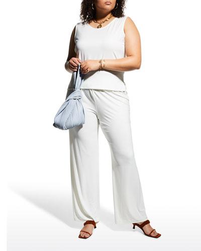 Caroline Rose Basic Knit Tank, Black, Women's