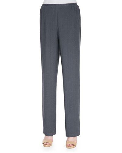 Cabo Knit Straight-Leg Pants, Women's