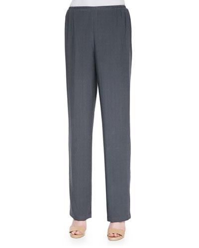 Cabo Knit Straight-Leg Pants, Women's