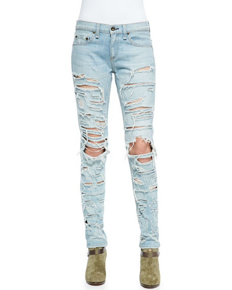 rag & bone/JEAN The Dre Destroyed Relaxed Jeans
