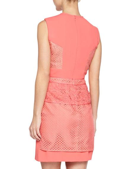 Tier-Skirt Lace Dress, Aurora