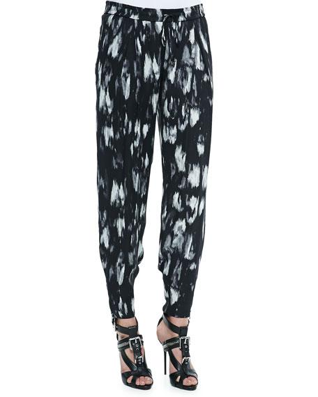 Haute Hippie Champ Ikat-Print Relaxed Pants