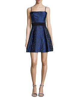 La Belle Fit-and-Flare Mini Dress