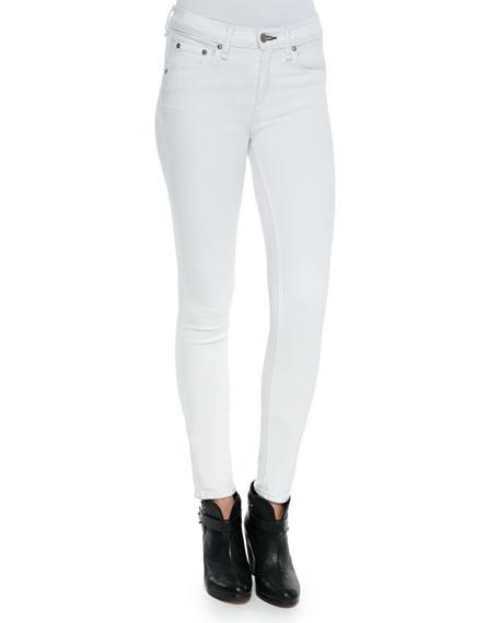 rag & bone/JEAN Mid-Rise Super Skinny Jeans, Bright