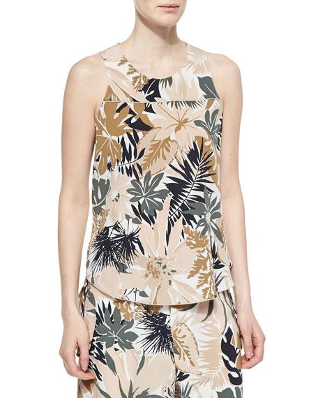 Rag & Bone Patricia Silk Floral-Print Top