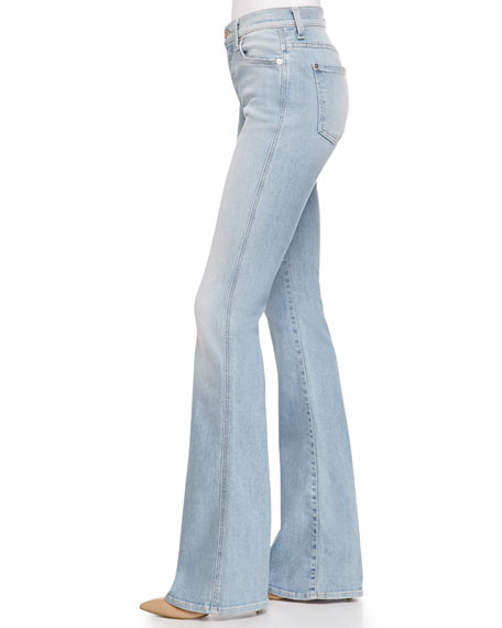 Bootcut high waisted jeans