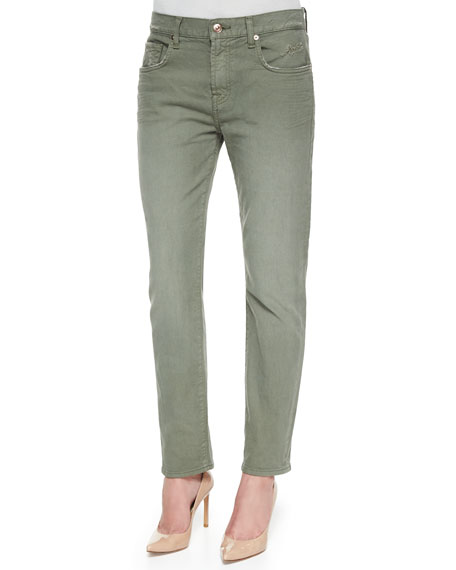 7 For All Mankind Relaxed Slim-Fit Denim Jeans,