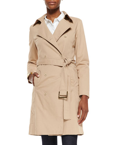 Fisher Project Double-Breasted Belted Coat