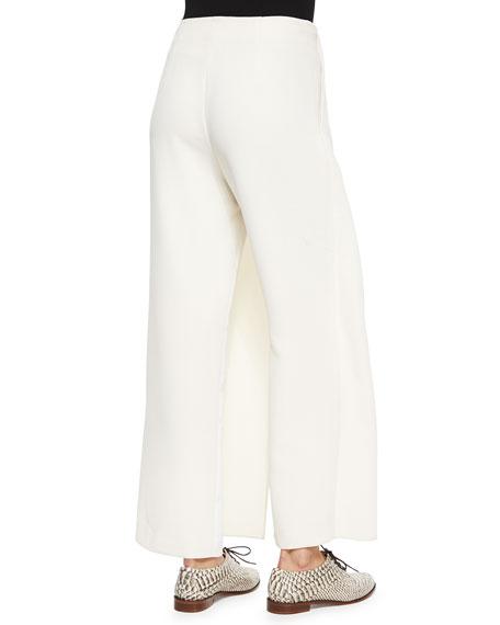 Priscilla Wide-Leg Wrap Pants