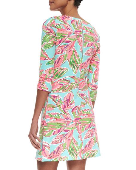 Charlene Printed Ponte Dress
