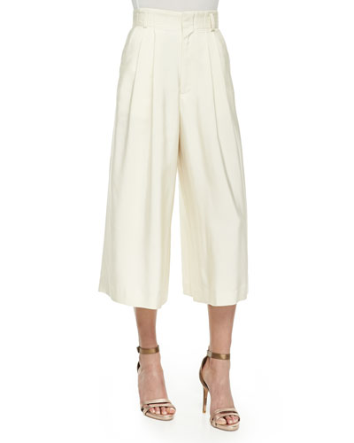 Ken Pleated Culottes