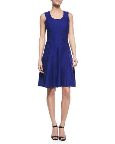 Twirl Sleeveless Knit Dress, Women