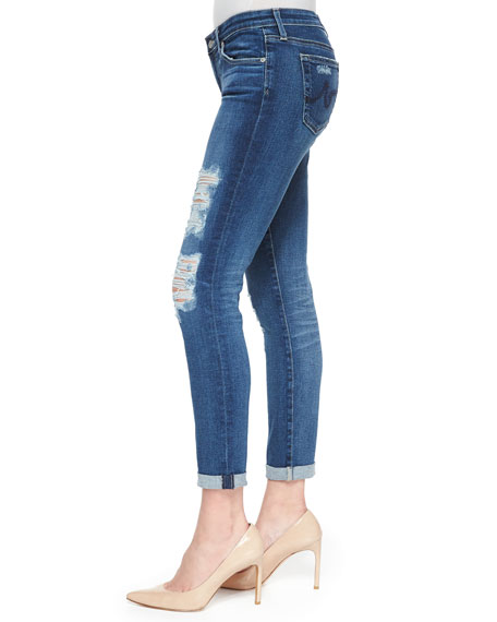 Ag Adriano Goldschmied Stilt Roll Up Skinny Jeans 11 Year