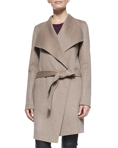 Lisa Long Belted Robe Coat
