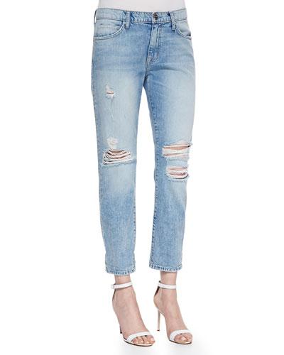 The Fling Point Break Destroyed Jeans