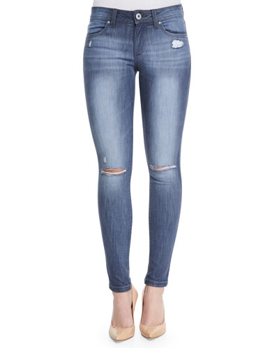 Emma Bailey Distressed Denim Leggings