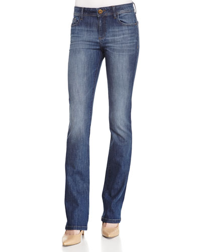 Elodie Scout Straight-Leg Denim Jeans