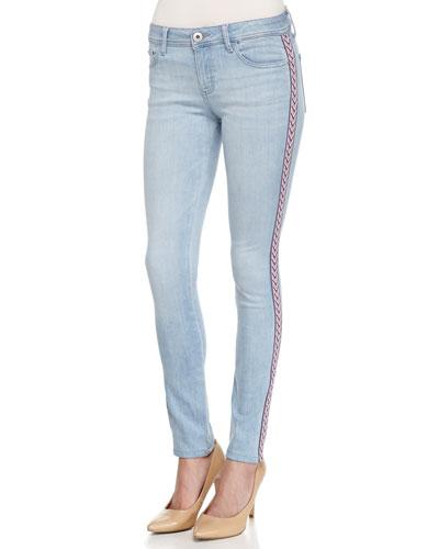 Florence Hurricane Insta-Sculpt Skinny Jeans, Blue