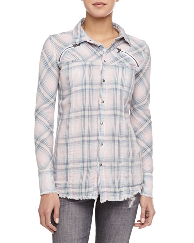 Ryan Exhale Plaid Button-Down Shirt