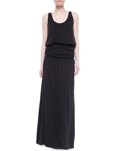 Wilcox Slub-Jersey Maxi Dress