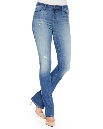 Remy Faded Boot-Cut Jeans