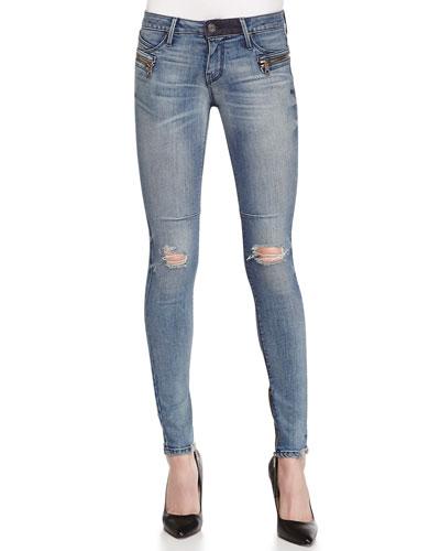 Jagger Cosmic Distressed Denim Jeans