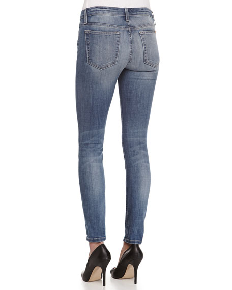 Lyndi Mid-Rise Ankle Skinny Jeans
