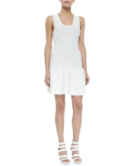 Joie Maudette Dropped-Waist Knit Dress