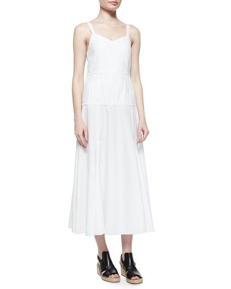 Rag & Bone Jade Sleeveless Poplin A-Line Dress