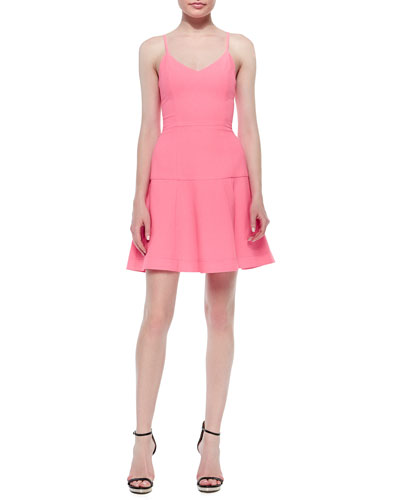 Kierrah Sleeveless Fit & Flare Dress