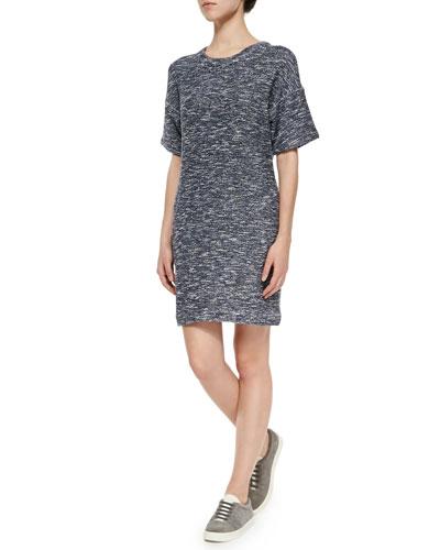 Space-Dye Knit Dress