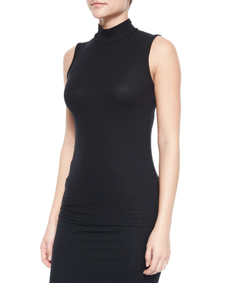 ATM Sleeveless Turtleneck Top