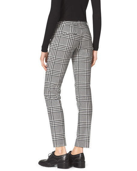 Verona Plaid Cropped Pants